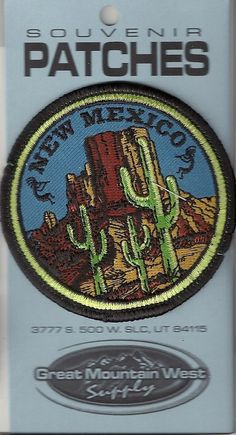 State of New Mexico Souvenir Patch | eBay