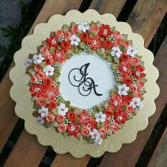 ribbon roses, mums & blossoms