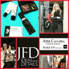 A JFD Ideas and Details agradece a Ana Carvalho, make up artist by MK por todo o trabalho desenvolvido na área da maquilhagem e liderança de equipas nos últimos trabalhos realizados em Braga.   Obrigada e votos de continuado sucesso.