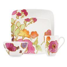 Lenox® Floral Fusion Square Dinnerware