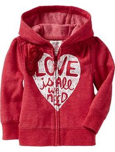 Graphic Hoodies for Baby (oh my goodness. MUST buy this.)