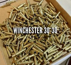 30-30 Brass Shells Used Bullet Casings Spent Ammo Casings Cleaned Polished – Craft Supplies Depot