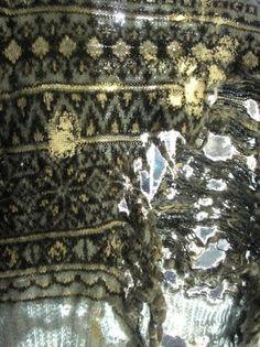 Celia Pym's jumper, before darning, I think