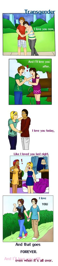 I love this! :) 'Love is all we ask for...(Transgender by SmittenFirefly on Deviant art)'
