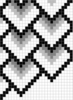 Use excel spreadsheet to make a wide column 0 24 and the row height 0 21 use the cell fill function to color cells copy past large sections zoom in and out choose print gridlines and print beadandbutton com Bargello Quilt Patterns, Bargello Needlepoint, Bargello Quilts, Tapestry Crochet Patterns, Needlepoint Stitches, Bead Loom Patterns, Peyote Patterns, Beading Patterns, Plastic Canvas