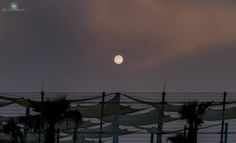 The blue moon sets, and the sun rises by Rayshore