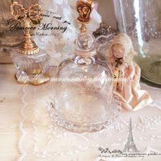 B。出口欧美复古法式水晶玻璃罩永生花玻璃罩微景观装饰摆件