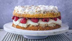 Kaker du kan lage til mai – som ikke er pavlova - Godt.no Cake Recipes, Dessert Recipes, Desserts, Pavlova, No Bake Cake, Vanilla Cake, Tiramisu, Cheesecake, Sweets