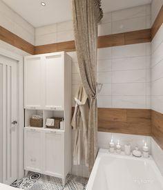 Ванная в двухкомнатной квартире г. Химки
