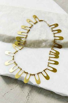Better Late Than Never Aten Collar Necklace