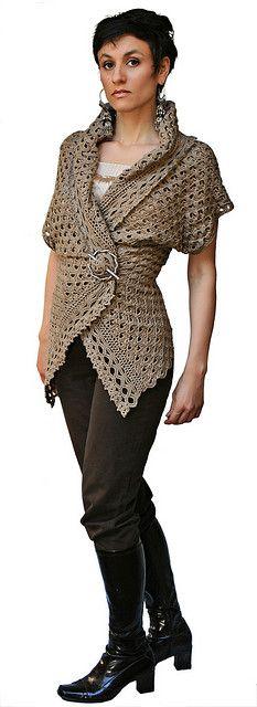Endless Crochet Cardi Shawl (Sleeveless) by stitchdiva, via Flickr