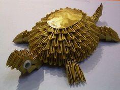 sandylandya@outlook.es 3D Origami - Golden Turtle Origami