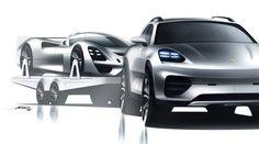 Alan Derosier - Porsche SUV & Visiont GT