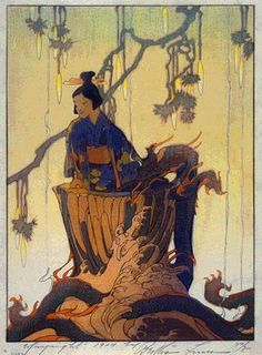 Dragon Well  by Bertha Lum, 1924