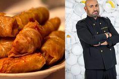 Chef Cătălin Scărlătescu este unul dintre cei mai apreciați bucătari din România, astfel că nu e de mirare că toată lumea dorește să-i afle rețetele cu care își răsfață prietenii și familia. Anul acesta este musai să încercați rețeta lui de sarmale, dar să afli și trucul pe care îl folosește Cheful de la Chefi la cuțite pentru ca sarmalele lui să aibă o aromă aparte. Romanian Food, Turkey, Meat, Fine Dining, Turkey Country