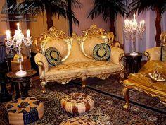 Barockmöbel Gold