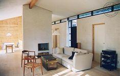 Sommerhus i lærk og fyr, Stue Divider, Room, Furniture, Home Decor, Holiday, Projects, Bedroom, Vacations, Rooms