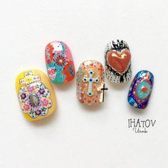 Asian Nail Art, Asian Nails, Soft Nails, Simple Nails, Bling Nails, My Nails, Summer Holiday Nails, Dope Nail Designs, Japanese Nail Art