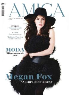 Like a Fox – Actress Megan Fox stuns in the September cover shoot from Italy's Amica Magazine. Photographed by Richard Phibbs and outfitted by Sarah Gore Reeves… Hollywood Celebrities, Hollywood Actresses, Style Megan Fox, O The Oprah Magazine, Elisa Sednaoui, Megan Denise Fox, Elle Us, Avicii, Fashion Photography Inspiration