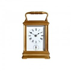 Miniature Gorge Case Carriage Clock 1