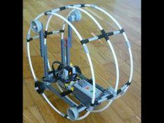 Lego Power Functions Monowheel - YouTube