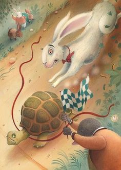 'The Tortoise and the Hare', Richard Johnson