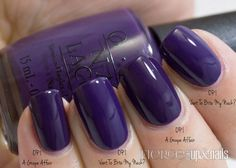Are They Dupes!?! (OPI, China Glaze, NOPI) — Fierce Makeup and Nails