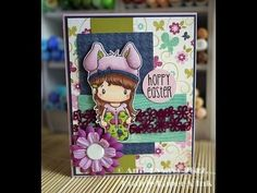 Spring & Easter Card Series - Card #2 - YouTube