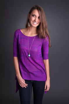 Lightweight Sunset Sweater - Love the colors!