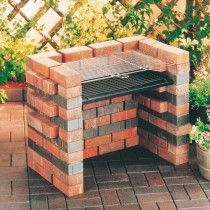 Le plus chaud Pic Barbacoa jardin Concepts Pit Bbq, Backyard Bbq Pit, Bbq Grill, Diy Barbecue, Barbeque Design, Grill Design, Grill Outdoor, Outside Grill, Brick Grill