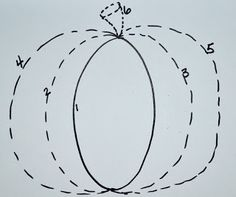 How To Draw A Pumpkin Worksheet