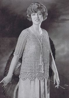 Vintage Knitting Patterns 1920s : 1000+ images about Crochet antiguo y vintage on Pinterest Royal society, Pi...