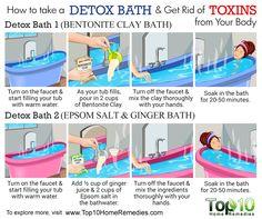 how to make detox bath