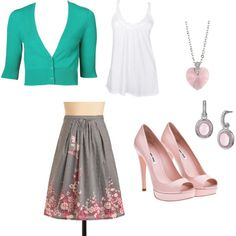 very pretty spring outfit