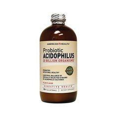 Probiotic Acidophilus Plain Flavor, 16 fl oz ml) Liquid