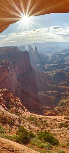 Photo Gallery: Summer in our National Parks. Canyonlands National Park Utah. photo: Jeanne Frasse.. /So very beautiful EL./