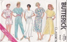 A-Line Dress and Jumpsuit Butterick Sewing Pattern by Ziatacraft