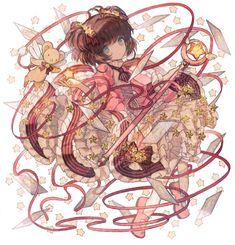 Tags: Cardcaptor Sakura, Fanart, Kinomoto Sakura, Pixiv, Kero-chan, PNG Conversion, Fanart From Pixiv, TKN (Pixiv5660890)