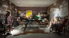 Fashion Designer Paul Smith's Office