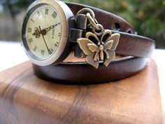 Hey, I found this really awesome Etsy listing at https://www.etsy.com/listing/122219261/sale-wrap-around-chocolate-brown-leather