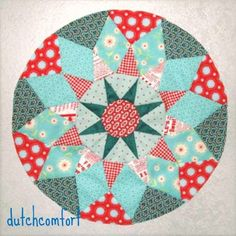 Camelot quilt, block  # 3