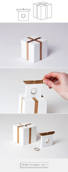 RING BOX on Packaging Design Served - created via pinthemall.net