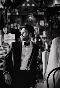 """As I've grown older, I've come to appreciate the formality of wearing hats with suits,"" this groom says. Click thru to see the rest of his wedding day! (Jessica Johnston Photography)"