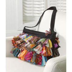 Sari Ruffles Handbag