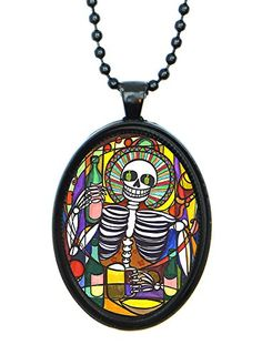 Cheers Skull Huge 30x40mm Black Pendant with Chain Necklace Artisan Courtyard http://www.amazon.com/dp/B00RIX8S7E/ref=cm_sw_r_pi_dp_2mbkvb11RW08Y