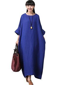 Mordenmiss linen dress
