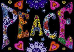 Doodle Peace alphabet! I think it is very rad. Ashlie I miss you terribly! Love your grieving Mom.
