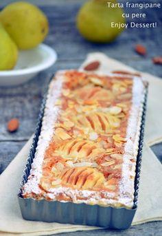 Frangipane Tart, Pear, Cheesecake, Deserts, Food And Drink, Thanksgiving, Cookies, Dinner, Baking
