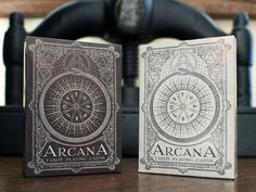 Arcana Playing Cards by Chris Ovdiyenko — Kickstarter New Dead on Paper/Chris Ovdiyenko release-Arcana playing cards inspired by Tarot
