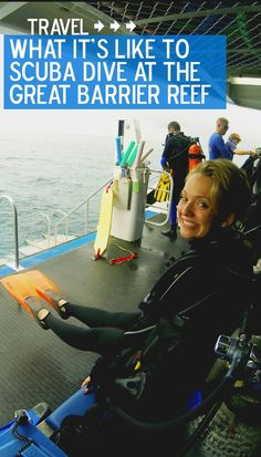 What it's like to ccuba Dive at the Great Barrier Reef (even if you're not certified)!  #Australia